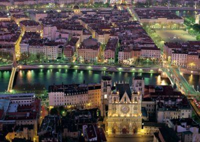 Lyon_vue_nuit_fourviere_copyright_Tristan_Deschamps