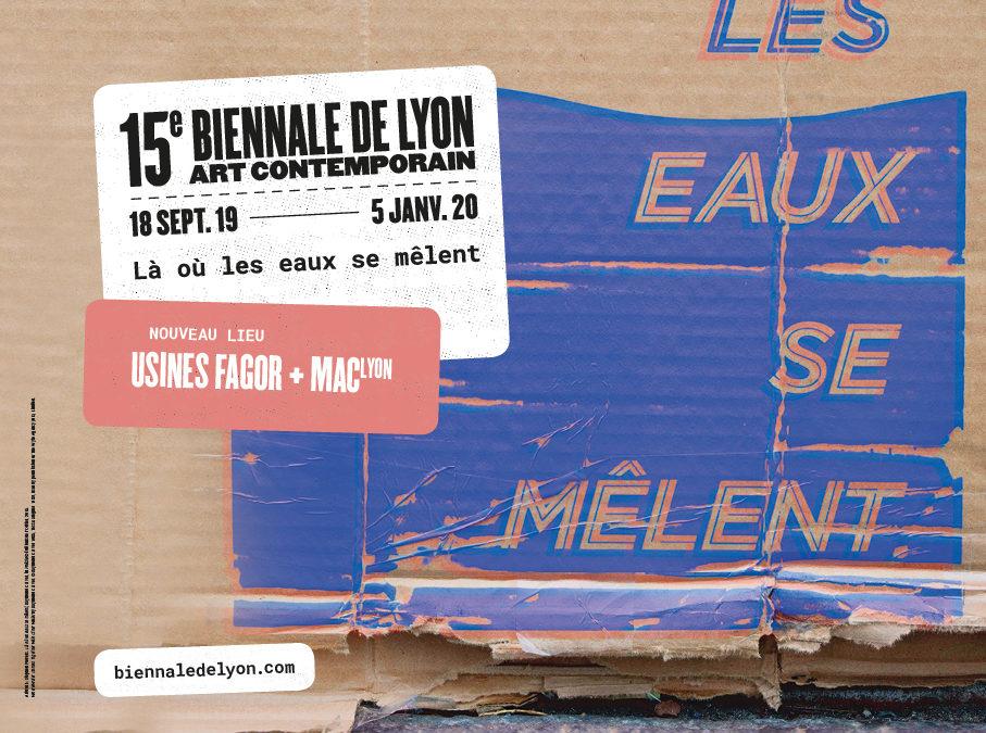 15 ème biennale d'art contemporain de Lyon